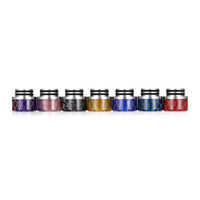 Wholesale stainless steel cobra for sale - Group buy Honeycomb Cobra Drip Tip Resin Stainless Steel Wide Bore Mouthpiece Fit Goon Kennedy Battle Apocalypse TFV8 TFV12 Vaporizer