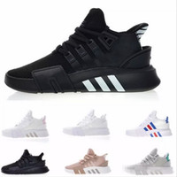 new concept 17414 7b651 Wholesale eqt support for sale - 2018 EQT Bask Support Future Running Shoes  Triple White black