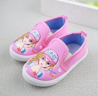 Wholesale light weight cotton fabric - Girls Cute Fashion Casual Shoes Slip On light weight Pink soft cotton fabric comfortable shoes
