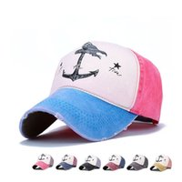 b9157625eb4 5 Panel Hats Man And Woman Pure Cotton Baseball Caps Do Old Pirate Ship  Anchor Gorras Wash Snapback 8 5zy aa