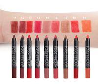 Wholesale Sexy Pen - Menow KISS PROOF Sexy Beauty Waterproof Lasting Fade Lipstick + Pen sharpener