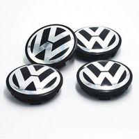 Wholesale wheel cars for sale online - Hot Sale mm Car Wheel Cover Badge Wheel Hub VW Center Caps Emblem For VW TOUARET