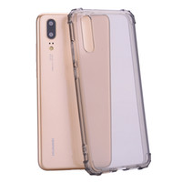Wholesale huawei phone case rhinestones - for Huawei P20 Clear tpu shockrpoof case for Huawei Mate 10 P20 Lite P10 lite P20 PRO Silicone Transparent Crystal Phone cases