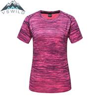 ingrosso camicie tattiche ad essiccazione rapida-Uomo Outdoor Sport T Shirt Quick Drying Camiseta Tactica Tattico Camiseta Masculina Esportiva Caccia Esercito Vestiti Da Pesca 2018