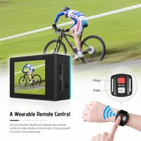 Wholesale high definition electronics resale online - H16 K WIFI Action Camera MP high definition photo super wide angle lens mult mode shot wearable remote Sports Camara