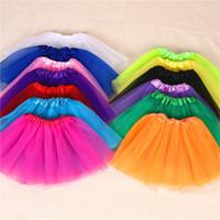 erwachsene tanzspitzen großhandel-15 Farben hochwertiger Süßigkeitfarbenerwachsener Ballettröckchenrock-Tanz kleidet weiches Ballettröckchenkleid-Ballettröckchenrockkleidung 100pcs / lot T2I367
