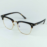 Top Quality Real Acetate 5154 Designer Glasses Professional Optical Frame 51mm Size 4 Colors Easily to Change the Lenses 51mm 49mm