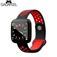 ingrosso allarme ossigeno sangue-F15 Bluetooth sport intelligente braccialetto frequenza cardiaca pressione sanguigna ossigeno macchina fitness messaggio di allarme promemoria per xiaomi mi3