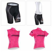 Wholesale fast bib - TOUR DE ITALY team Cycling Short Sleeves jersey (bib) shorts Sleeveless Vest sets Summer men hot fast dry breathable bike clothing Q50745