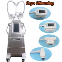 Wholesale cool lipolysis machine online - 2018 Newest Fat Freezing Machine With Cool S culpting Cryo Lipolysis handles fat freeze Double Chin Reduction