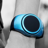 Wholesale prices for portable speakers for sale - Group buy ZZYD B20 Mini Bluetooth Speaker Bass Smart Watch Bluetooth Wireless Universal For Music Player With TF Card DHL Free Best Price