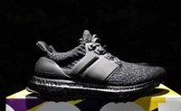 Wholesale Free Delivery Shoes - Fast delivery Women Men Running Shoes Ultra Boost 3.0 Triple Black white Free Run Trainers Sport Shoes Sports Training Running Shoes Jogging