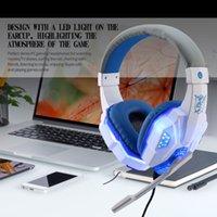 ingrosso cuffie di gioco del bluetooth-SY830MV Gaming Headset con Mic-Sound Clarity Riduzione del rumore Cuffie LED per computer game per PS4 / XBOX-ONE