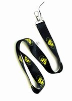 neuer batman groihandel-2018 neue heiße Cartoon schwarz / gelb Batman vs Supreman Logo Straps Lanyard ID Badge Holder Mobile Neck Schlüsselanhänger
