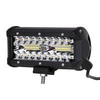 ingrosso luci di pollice-ECAHAYAKU 1 pz 120 W Led Work Light Bar 7 pollici per trattore fuoristrada Suv Atv Spot Flood Combo 12V 24V luci di guida