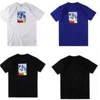 Wholesale Snow White Shirts - Unisex t shirt Snow Mountain Tee Box Logo t shirts Mens Print tops T-shirts Summer Short Sleeve Loose skateboard fashion tshirt