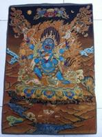 estatua de tara al por mayor-Tibet Nepal thangka tara buddha Kuan estatua Guan Yin Exorcismo paz riqueza