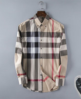 Wholesale Plaid Shirt Trend - 08 New arrivals in spring 2018 Japanese men long sleeve striped shirt spring summer loot. joker trend Shirts are to be86