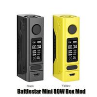 Wholesale mini oled - 100% Original Smoant Battlestar Mini 80W Box Mod VW TC Single 18650 Battery Mod With Durable Magnets Back Cover 0.96inch OLED