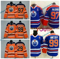 official photos 70105 5b27a Wholesale Wayne Gretzky Youth Hockey Jersey - Buy Cheap ...