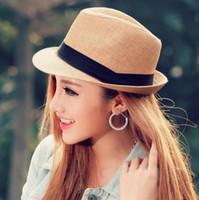 20% Off. AUD  2.84. Men Women Panama Straw Hats Fedora Stingy Brim Hats  Soft Fashion For Unisex 7 Colors Summer Sun Beach Caps ... cdb66c14182d