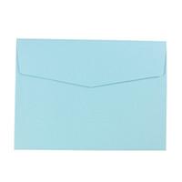 invitaciones amarillas al por mayor-Envelope Retail Invitations Tarjeta de felicitación Stationery Letter Envelope, azul claro verde claro rosa naranja amarillo claro negro