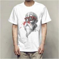 ingrosso gli stati della sfera-T-shirt da uomo Cartoon Dragon Ball Wukong Turtle Fairy T-shirt da uomo T-shirt moda Europa e Stati Uniti Tide girocollo
