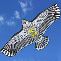 Wholesale eagle wing toys resale online - Huge m Eagle Kite Single Line Novelty Animal Kites Children Toys New Arrival High Quality