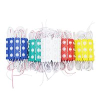 tiras de luz led impermeables ip68 al por mayor-Los módulos LED almacenan la luz de la ventana delantera signo de luz Lámpara 3 SMD 5630 Inyección blanco ip68 Impermeable (10ft = 20pcs) Luz de tira led retroiluminación