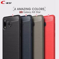 Wholesale oppo for for sale - Brush Carbon Fiber TPU Soft Case For Samsung Galaxy A9 Star J4 J6 EU J3 J7 DUO A6 Plus OPPO R15 Pro Huawei Honor Play Mate RS Cover