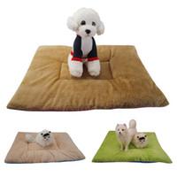 ingrosso cassa morbida dell'animale domestico-Moing - OxGord Self Warming Pet Bed Cuscino Pad Dog Cat Cage Kennel Crate Soft Cozy Mat