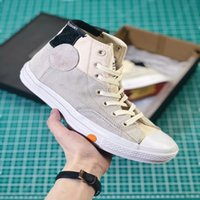 Wholesale rice toppings - 2018 New Rokit Chuck Crystal Sole Rice High Top White High-quality Shoe 1970S men women Shoes Fashion Running Shoes Size 36---44
