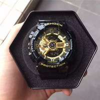 Wholesale luxury g shock - 2018 Fashion Arrival Mens G Style Military Wristwatches Multifunction LED Digital Shock Quartz Sport Watches for Man Male Students Clock