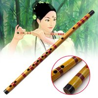 Wholesale dizi d for sale - High Quality Beginner Bamboo Flute Professional Woodwind Flute Musical instruments C D E F G Key Chinese Dizi Transversal Flauta
