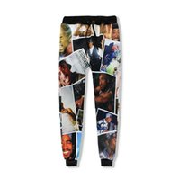 a60e22de70be3 2018 New Tupac 2pac Joggers Pants 3d Print Character Sweatpants Men Women  Full Length casual Hip Hop Trousers