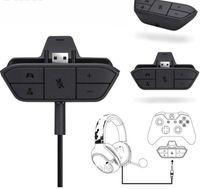 microsoft xbox game controller großhandel-Gamepad Stereo-Kopfhörer-Kopfhörer Audio Gaming Adapter für Microsoft für Xbox One-Controller Spielkonsolen Zubehör