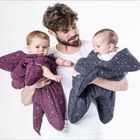 Wholesale Stars Baby Clothing - Ins Baby sleeping bag Maternity Stars cotton warm Infants sleeping bags kick -proof 2017 winter Hotsale