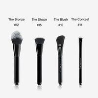 MJ Bronze Bronzer Brush 12 Angled Blush 10 The Conceal 14 Shape Contour 15- BOX PACKAGE Powder Concealer Foundation Beauty Makeup Brushes