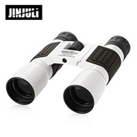 Wholesale camping car design resale online - JINJULI X40 M M Folding Outdoor Binocular Fully coated Roof Prism Telescope with anti fog and water resistant design