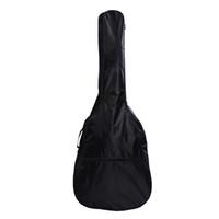 estuche de guitarras acústicas al por mayor-Impermeable 41 Pulgadas Eléctrico Acústica Bolsa de la Guitarra caja Bass Carry Correa de Hombro Bolsas de Instrumentos Casos