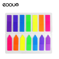 Wholesale page flags - EOOUT 2 Sets Neon Page Marker Colored Index Tabs Flags Fluorescent Sticky Note for Marking for Page Marker 280 Pieces