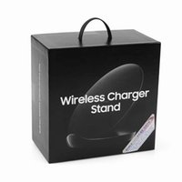 Wholesale galaxy base - Vertical Fast Charger Universal Wireless Charger Base Charging Pad Plate Stand Dock For Samsung Galaxy S6 Edge S7 Edge S8 Plus Note 5 S9