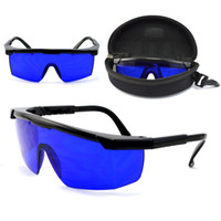 Wholesale Professional Golf Ball Finder Glasses Eye Protection Golf Accessories Blue Lenses Sport Glasses With Box