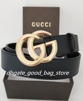 Wholesale Golden Bronze - High quality belts with box 10 styles designer belts for men big buckle belts top fashion men belt wholesale free shipping 021