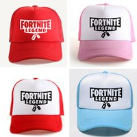 Wholesale hot movies online - Fashion New Women And Men Designer Hats Fortnite Hat Sun Shading Baseball Cap Blue Pink Red Hot Sale jf aa