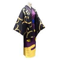 trajes de anime gintama al por mayor-GinTama shinsuke Takasugi kimono abrigo Cosplay shinsuke Takasugi Cosplay