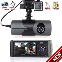Wholesale motion detector night vision camera for sale - Group buy 2018 Upgraded quot Dual Lens LCD Vehicle Car DVR Camera Video Recorder Dash Cam G Sensor GPS