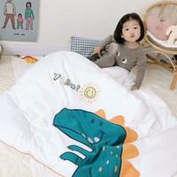 quilt kids venda por atacado-cobertores de bebê recebendo cobertores de algodão macio Baby Kids Quilt verão