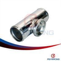 "Wholesale pipe intercooler - PQY - 2.25"" inch 57mm SSQV SQV Blow Off Valve Adapter BOV Turbo Intercooler Aluminiun Pipe BOV turbo pipe PQY-PBV225S"