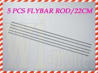 moteurs électriques pour avions achat en gros de-Pièces de contrôle à distance Accs F00139-5 5PCS HS1264 Flybar Rod 220mm pour ALIGN TREX T-REX 450 SE V2